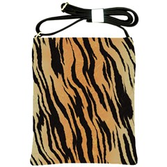 Tiger Animal Print A Completely Seamless Tile Able Background Design Pattern Shoulder Sling Bags
