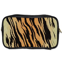 Tiger Animal Print A Completely Seamless Tile Able Background Design Pattern Toiletries Bags 2 Side