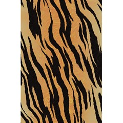 Tiger Animal Print A Completely Seamless Tile Able Background Design Pattern 5 5  X 8 5  Notebooks