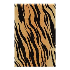 Tiger Animal Print A Completely Seamless Tile Able Background Design Pattern Shower Curtain 48  X 72  (small)