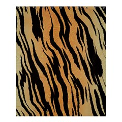 Tiger Animal Print A Completely Seamless Tile Able Background Design Pattern Shower Curtain 60  X 72  (medium)
