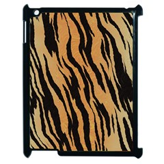 Tiger Animal Print A Completely Seamless Tile Able Background Design Pattern Apple Ipad 2 Case (black)