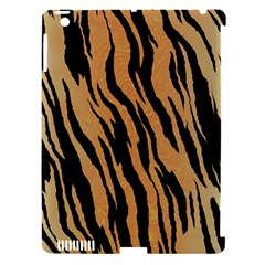 Tiger Animal Print A Completely Seamless Tile Able Background Design Pattern Apple Ipad 3/4 Hardshell Case (compatible With Smart Cover)