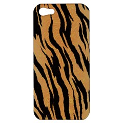 Tiger Animal Print A Completely Seamless Tile Able Background Design Pattern Apple Iphone 5 Hardshell Case