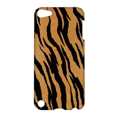 Tiger Animal Print A Completely Seamless Tile Able Background Design Pattern Apple Ipod Touch 5 Hardshell Case