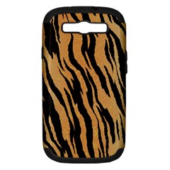 Tiger Animal Print A Completely Seamless Tile Able Background Design Pattern Samsung Galaxy S Iii Hardshell Case (pc+silicone)