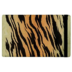 Tiger Animal Print A Completely Seamless Tile Able Background Design Pattern Apple Ipad 2 Flip Case