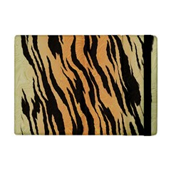 Tiger Animal Print A Completely Seamless Tile Able Background Design Pattern Apple Ipad Mini Flip Case