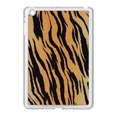 Tiger Animal Print A Completely Seamless Tile Able Background Design Pattern Apple iPad Mini Case (White)