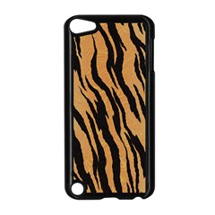 Tiger Animal Print A Completely Seamless Tile Able Background Design Pattern Apple Ipod Touch 5 Case (black)