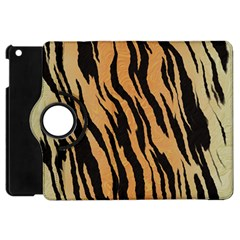 Tiger Animal Print A Completely Seamless Tile Able Background Design Pattern Apple Ipad Mini Flip 360 Case