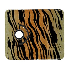 Tiger Animal Print A Completely Seamless Tile Able Background Design Pattern Galaxy S3 (flip/folio)
