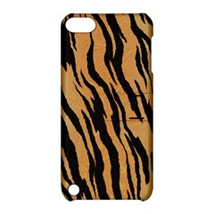 Tiger Animal Print A Completely Seamless Tile Able Background Design Pattern Apple Ipod Touch 5 Hardshell Case With Stand