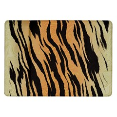 Tiger Animal Print A Completely Seamless Tile Able Background Design Pattern Samsung Galaxy Tab 10 1  P7500 Flip Case