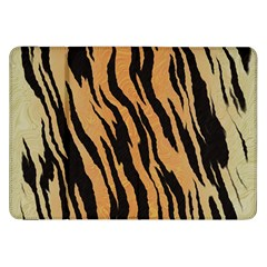 Tiger Animal Print A Completely Seamless Tile Able Background Design Pattern Samsung Galaxy Tab 8 9  P7300 Flip Case