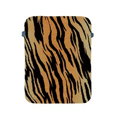 Tiger Animal Print A Completely Seamless Tile Able Background Design Pattern Apple Ipad 2/3/4 Protective Soft Cases