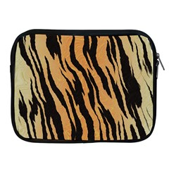 Tiger Animal Print A Completely Seamless Tile Able Background Design Pattern Apple Ipad 2/3/4 Zipper Cases