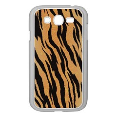Tiger Animal Print A Completely Seamless Tile Able Background Design Pattern Samsung Galaxy Grand Duos I9082 Case (white)