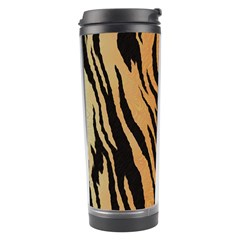 Tiger Animal Print A Completely Seamless Tile Able Background Design Pattern Travel Tumbler