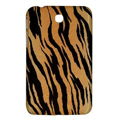 Tiger Animal Print A Completely Seamless Tile Able Background Design Pattern Samsung Galaxy Tab 3 (7 ) P3200 Hardshell Case