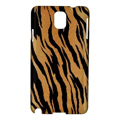 Tiger Animal Print A Completely Seamless Tile Able Background Design Pattern Samsung Galaxy Note 3 N9005 Hardshell Case