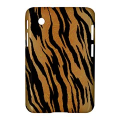 Tiger Animal Print A Completely Seamless Tile Able Background Design Pattern Samsung Galaxy Tab 2 (7 ) P3100 Hardshell Case