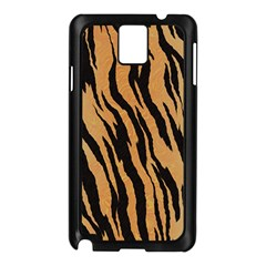Tiger Animal Print A Completely Seamless Tile Able Background Design Pattern Samsung Galaxy Note 3 N9005 Case (black)