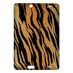 Tiger Animal Print A Completely Seamless Tile Able Background Design Pattern Amazon Kindle Fire Hd (2013) Hardshell Case