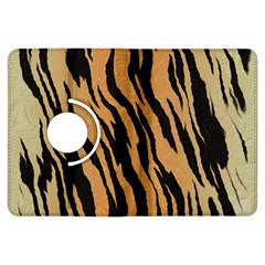 Tiger Animal Print A Completely Seamless Tile Able Background Design Pattern Kindle Fire HDX Flip 360 Case