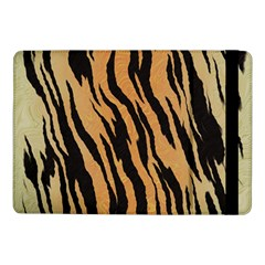 Tiger Animal Print A Completely Seamless Tile Able Background Design Pattern Samsung Galaxy Tab Pro 10 1  Flip Case