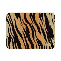 Tiger Animal Print A Completely Seamless Tile Able Background Design Pattern Double Sided Flano Blanket (mini)