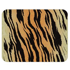 Tiger Animal Print A Completely Seamless Tile Able Background Design Pattern Double Sided Flano Blanket (medium)