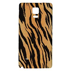 Tiger Animal Print A Completely Seamless Tile Able Background Design Pattern Galaxy Note 4 Back Case