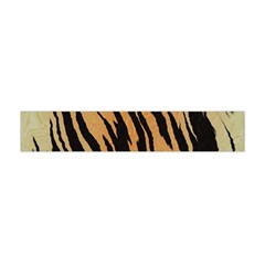 Tiger Animal Print A Completely Seamless Tile Able Background Design Pattern Flano Scarf (mini)