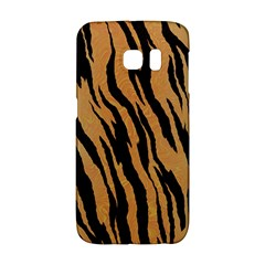 Tiger Animal Print A Completely Seamless Tile Able Background Design Pattern Galaxy S6 Edge