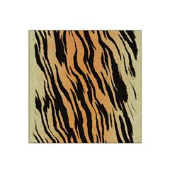 Tiger Animal Print A Completely Seamless Tile Able Background Design Pattern Satin Bandana Scarf