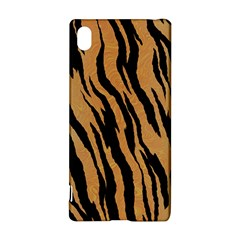 Tiger Animal Print A Completely Seamless Tile Able Background Design Pattern Sony Xperia Z3+