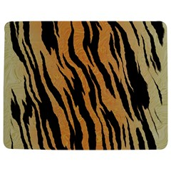 Tiger Animal Print A Completely Seamless Tile Able Background Design Pattern Jigsaw Puzzle Photo Stand (rectangular)
