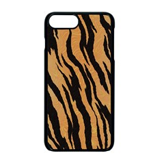 Tiger Animal Print A Completely Seamless Tile Able Background Design Pattern Apple Iphone 7 Plus Seamless Case (black)