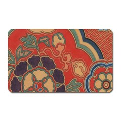 Vintage Chinese Brocade Magnet (Rectangular)
