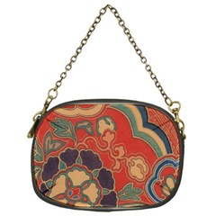 Vintage Chinese Brocade Chain Purses (one Side)
