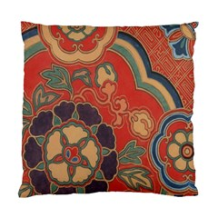 Vintage Chinese Brocade Standard Cushion Case (two Sides)
