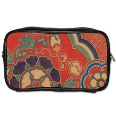 Vintage Chinese Brocade Toiletries Bags 2-Side