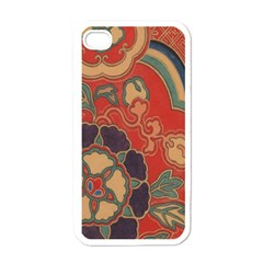 Vintage Chinese Brocade Apple Iphone 4 Case (white)