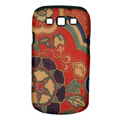Vintage Chinese Brocade Samsung Galaxy S Iii Classic Hardshell Case (pc+silicone)