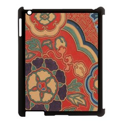 Vintage Chinese Brocade Apple Ipad 3/4 Case (black)