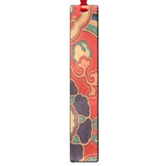 Vintage Chinese Brocade Large Book Marks