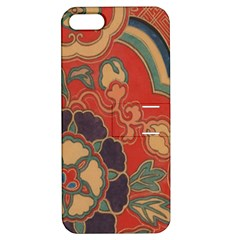 Vintage Chinese Brocade Apple Iphone 5 Hardshell Case With Stand