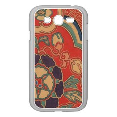 Vintage Chinese Brocade Samsung Galaxy Grand Duos I9082 Case (white)