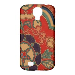 Vintage Chinese Brocade Samsung Galaxy S4 Classic Hardshell Case (pc+silicone)